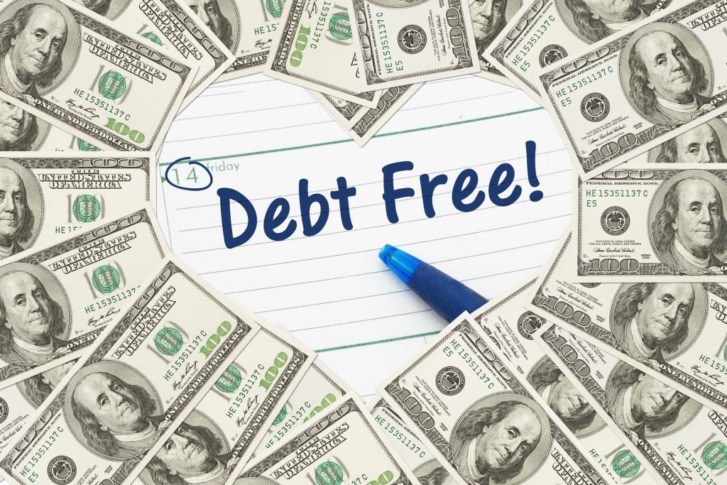 Love being debt free