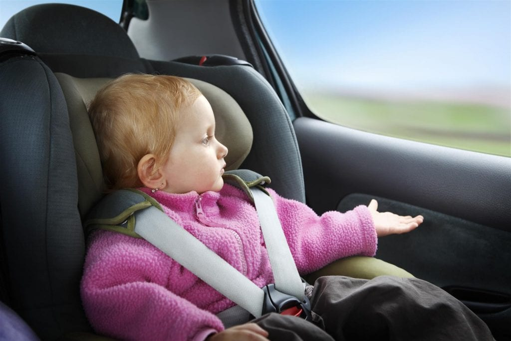 child in car seat